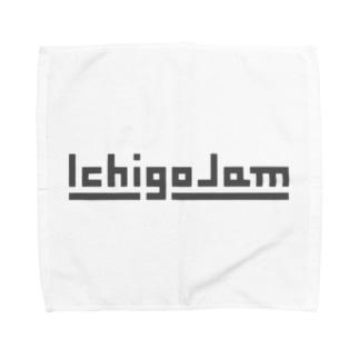 IchigoJamグッズ(グレー) Towel handkerchiefs