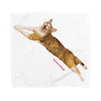 kachimo本舗のカステラちゃん Towel handkerchiefs