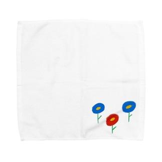 お花畑 Towel handkerchiefs