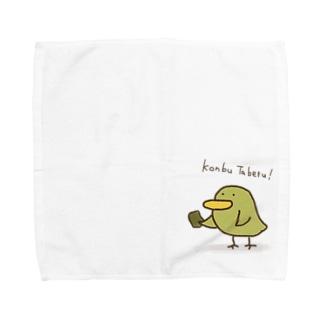 コンブ Towel handkerchiefs