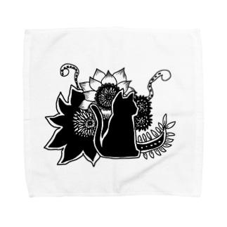 花猫 Towel handkerchiefs
