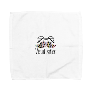 Visualization Towel handkerchiefs