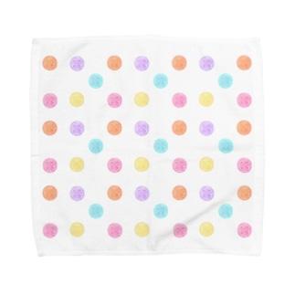 ミズクラゲのドロップス Towel Handkerchief