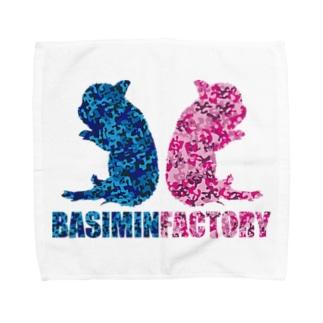 ミニブタ Towel handkerchiefs