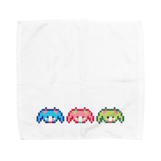 さんしまい Towel handkerchiefs