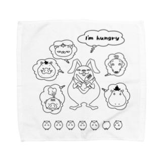 充実夜祭のハングリー Towel handkerchiefs