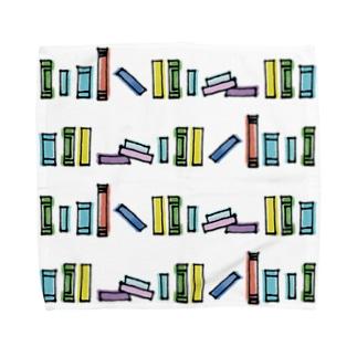 図書館 Towel handkerchiefs