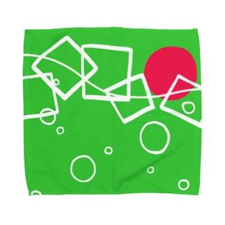 sagのmelon  soda Towel handkerchiefs