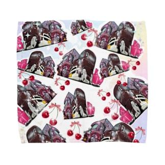 旅するクレープ屋さん Towel handkerchiefs