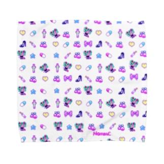 あぁちゃまのゆめかわ8bit Towel handkerchiefs