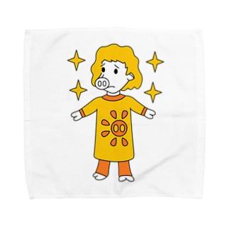 オーッ!マリア・トントローネッ! Towel handkerchiefs
