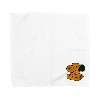 磯部もちくん Towel handkerchiefs