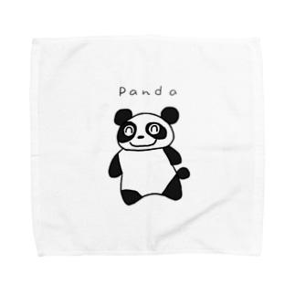 ぱんだ Towel handkerchiefs