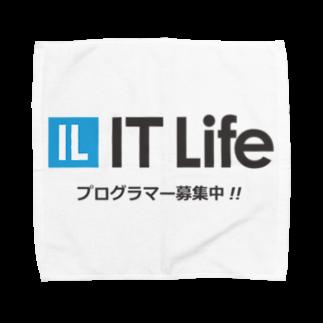 IT LifeのIT Life - プログラマ募集ver タオルハンカチ