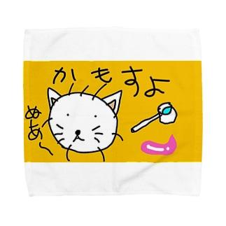 猫と杓子と Towel handkerchiefs