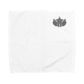 大日本帝国陸軍近衛師団帽章(ワンポイント グレー) Towel handkerchiefs
