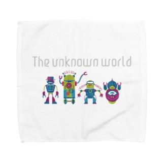 the unknown world Towel handkerchiefs