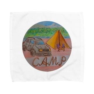 CAMP with CAR Towel handkerchiefs