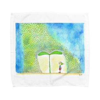 きらきらした粒 Towel handkerchiefs