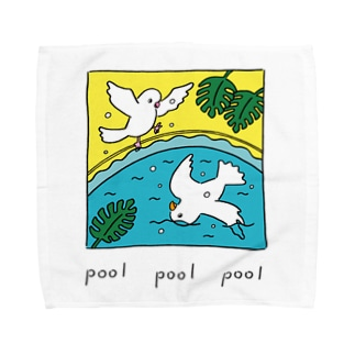 pool とり Towel handkerchiefs