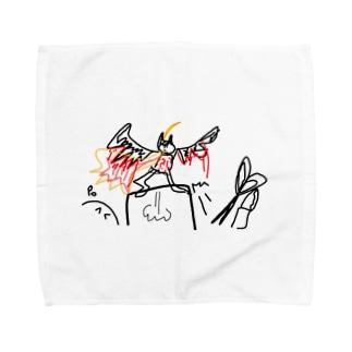 バネ足ジャック Towel handkerchiefs
