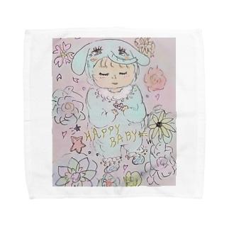 Happy Towel handkerchiefs