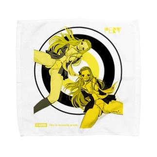 YOU PERV 006 レトロポップ 学園 クラッシュレモンゼリースカッシュ Towel handkerchiefs