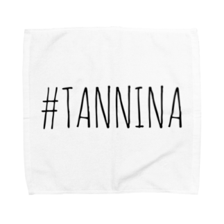 Tanninaの#TANNINA タオルハンカチ