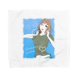 ミカちゃん喜ぶ! Towel handkerchiefs