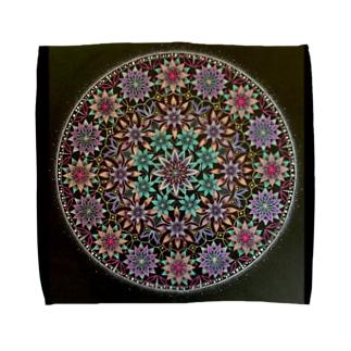 タオルハンカチ 曼荼羅 Towel handkerchiefs