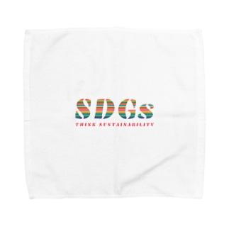 SDGs - think sustainability Towel handkerchiefs