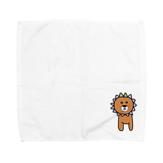 ラライオンくん Towel handkerchiefs