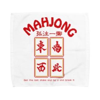 MAHJONG【麻雀】 Towel handkerchiefs