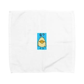 な?どり Towel handkerchiefs