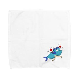 いわしチャンのいわしチャン あっぱれ Towel handkerchiefs