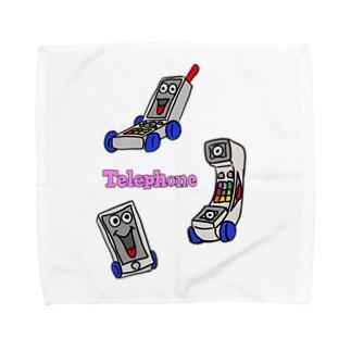 テレフォンズ Towel handkerchiefs