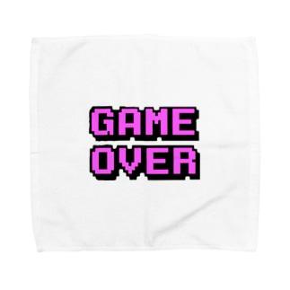 ゲームオーバー Towel handkerchiefs