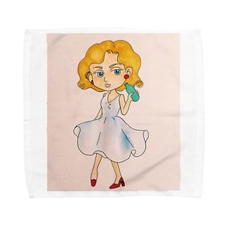 レディliquor Towel handkerchiefs