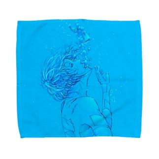 気泡 Towel handkerchiefs