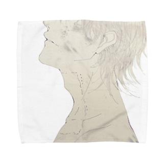 囚 Towel handkerchiefs