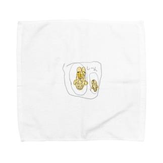 ミヤマのさなぎ Towel handkerchiefs