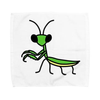 カマキリ Towel handkerchiefs