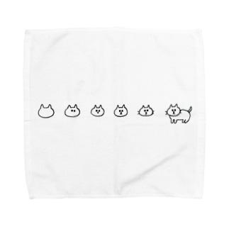 1匹上がり! Towel handkerchiefs