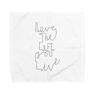 Love the life you live Towel handkerchiefs