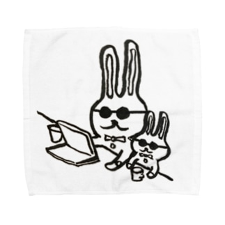40.動画鑑賞 Towel handkerchiefs