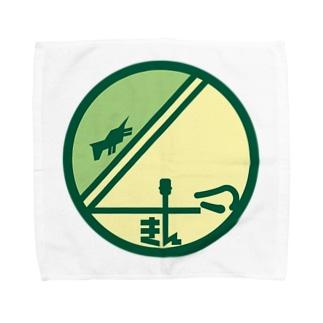 パ紋No.2960 きん Towel handkerchiefs