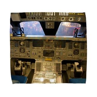 スペースシャトル コクピット Towel handkerchiefs