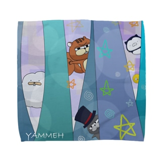 水色 Towel handkerchiefs