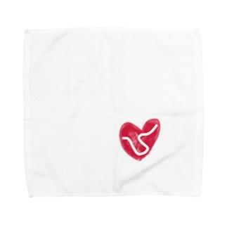 朝鮮半島の平和を祈ります Towel handkerchiefs