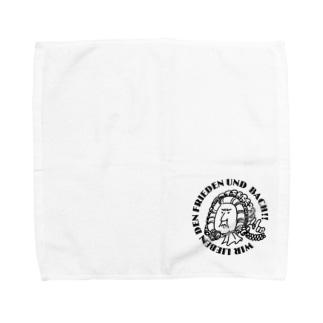 我々は平和とバッハを愛す!type_A Towel handkerchiefs
